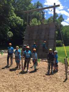 Special Activities - Climbing the Wall