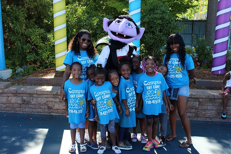 Campus Day Camp Brooklyn NY - Trip to Sesame Place